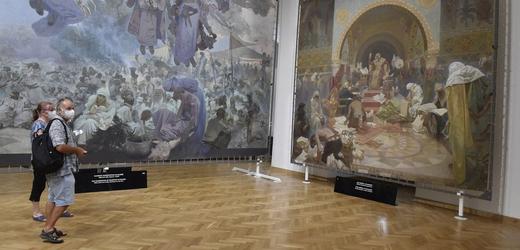 Slovanská epopej se opět vrátila na zámek v Moravském Krumlově.