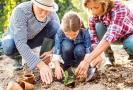Zahradničení s dětmi.