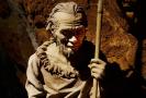 Jeskyně Balcarka, figurína, model, pračlověk (ilustrační foto).
