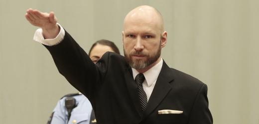 Odsouzený pravicový extremista Anders Behring Breivik.