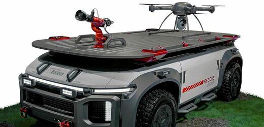 Hyundai Rescue Drone.