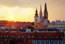 Hlavní město Chorvatska Záhřeb.