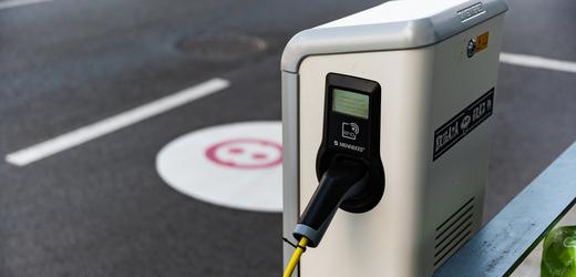 Nabíjecí stanice pro elektromobil (ilustrační foto).