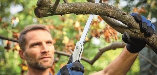 Řezání větví může být hračka.