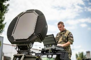 Radar od pardubické společnosti ELDIS ve službách české armády.