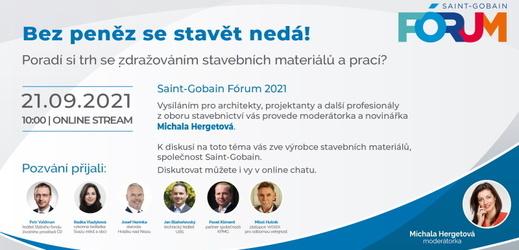 Saint-Gobain Fórum: poradí si trh se zdražováním stavebních materiálů a prací?