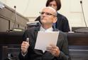 Obžalovaný soudce Ivan Elischer u soudu.