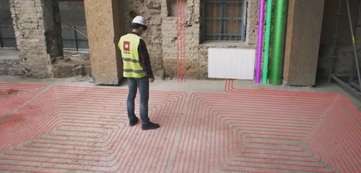 Virtuální realita ve stavebnictví.