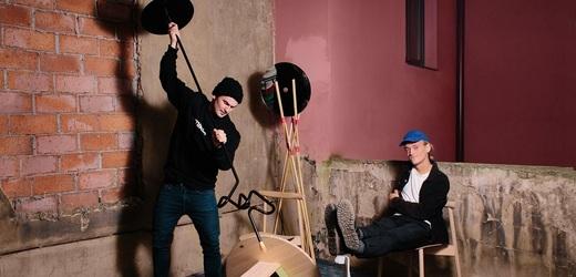 Designérské duo Herrmann a Coufal.