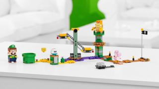 Přichází LEGO Luigi! Stavebnici LEGO Super Mario si teď užijete i ve dvou.