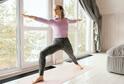 Zahřejte se pravidelným domácím cvičením.