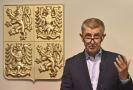 Premiér Andrej Babiš vystoupil 18. října 2021 v Praze na tiskové konferenci po zasedání Rady hospodářské a sociální dohody ČR.