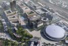 Praha 9 chce vybudovat nové centrum Vysočan u O2 areny.