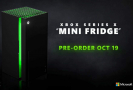Microsoft začal prodávat malou ledničku ve stylu Xboxu Series X.