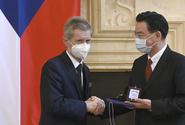 Čínská strana odsoudila návštěvu tchajwanského ministra v ČR