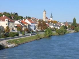 Město Krems.