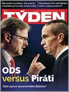 Titulní strana aktuálního časopisu TÝDEN 5/2020.