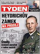 Aktuální obálka časopisu TÝDEN.