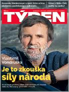 Titulní strana aktuálního časopisu TÝDEN 14/2020.