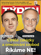 Titulní strana aktuálního časopisu TÝDEN 16/2020.