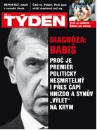 Titulní strana TÝDNE.