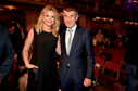 Ministr financí Andrej Babiš (ANO) s partnerkou Monikou.