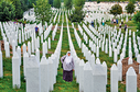 Bosenské městečko Srebrenica.