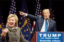 Hillary Clintonová a Donald Trump.