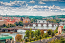 Pohled na Prahu.