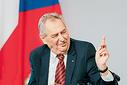 Prezident České republiky Miloš Zeman.