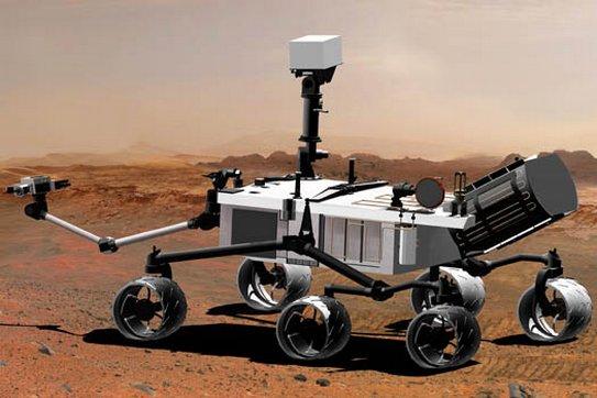 Čip se jmény na Mars doputuje se sondou Curiosity v roce 2011.