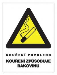 kouření rukouebenové trubičky