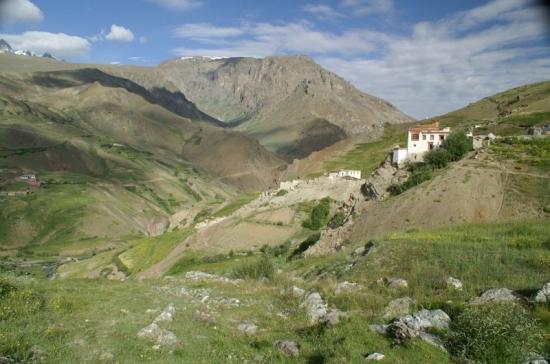 Sapi - starý klášter.