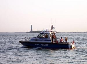 Zvláštní oddělení policie má i svou námořní jednotku.