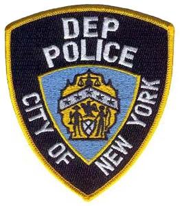 Odznak policie životního prostředí.