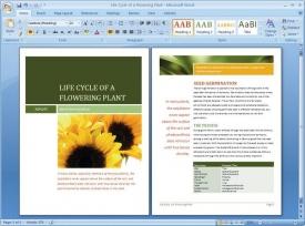 Microsoft Office zatím dominuje trhu (na snímku Word 2007).