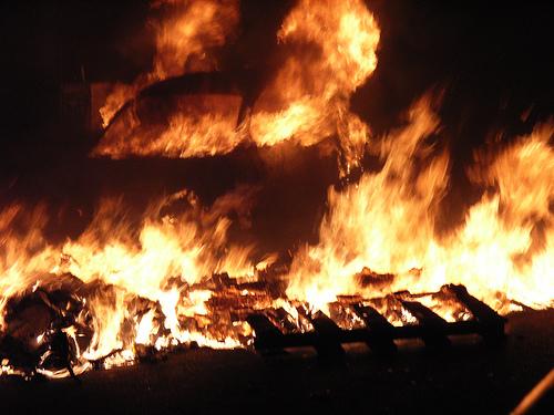 Berlín hoří!
