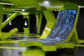 Interiér výstavy Level Green navrhli tvůrci z J. H. Mayer Architects.