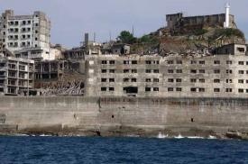 Ostrov hashima nebo také gunkan jima ostrov válečných lodí se