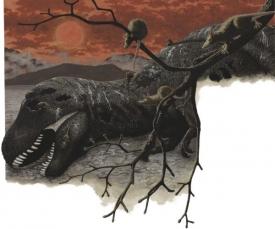 Dinosaury zřejmě zabila změna klimatu vyvolaná dopadem asteroidu.