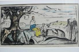 Další ukradená litografie Edwarda Muncha