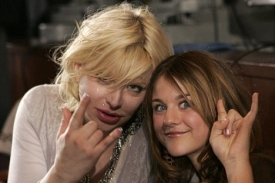 Courtney Love a dcera Frances Cobainová