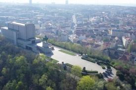 Pražský památník Vítkov.