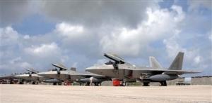 Letecká základna Andersen na ostrově Guam.