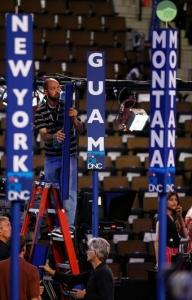 Delegáti z Guamu se účastnili i volebního sjezdu demokratů v Denveru.