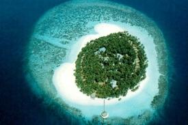 Velký div Malediv Ihuru.