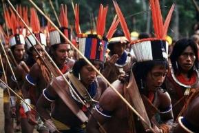 Pralesní indiáni v Pará, ilustrační foto.