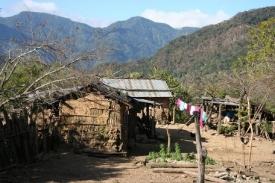 Dům ve vesnici Baritú.