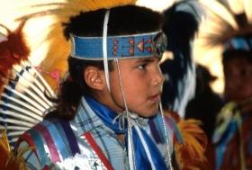 Indiáni v rezervaci v Albertě.