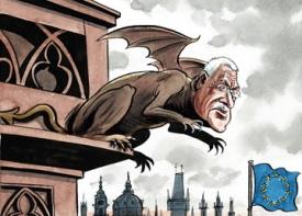 Český prezident václav klaus se podle britského týdeníku the